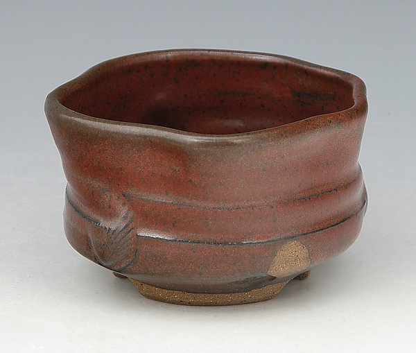 Wheel Thrown and Altered Tea Bowl