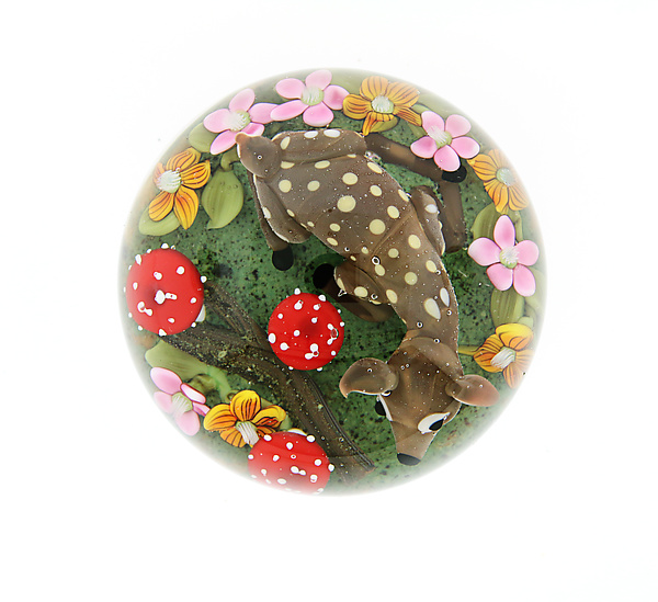 Spring Fawn Miniature Paperweight