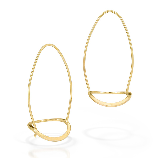 Open Basket Earrings