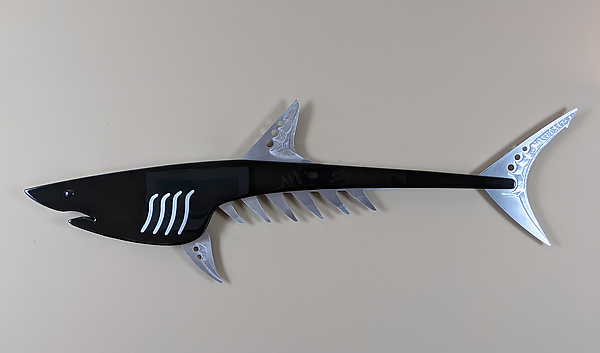 Mako Shark in Black