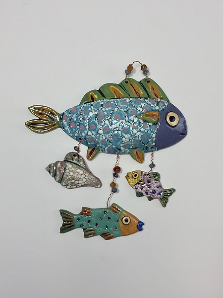 Fish Wall Art III