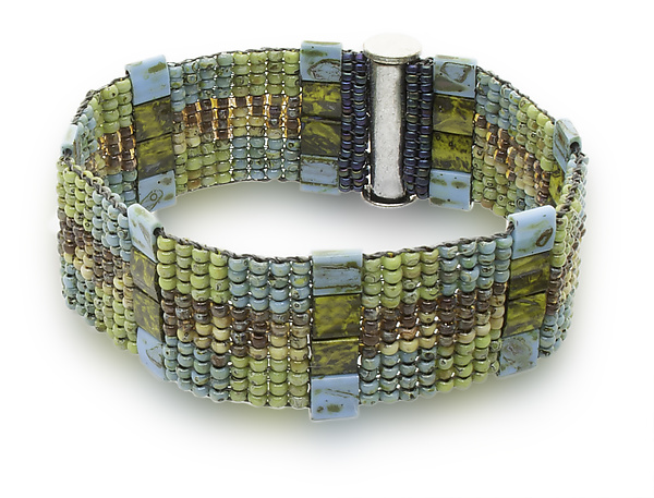 Turquoise Woven Cuff
