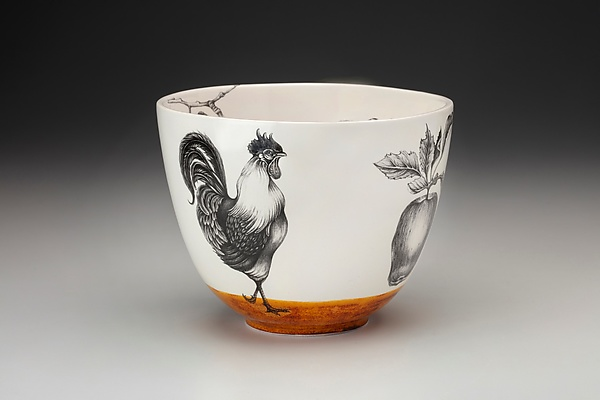 Medium Rooster Bowl