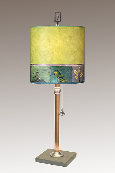 Woodland Trails Copper Table Lamp