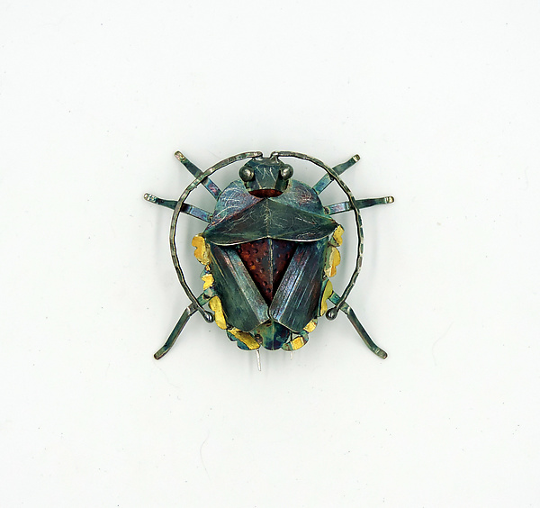 Shield Bug Brooch