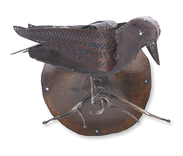 Raven Wall Sculpture