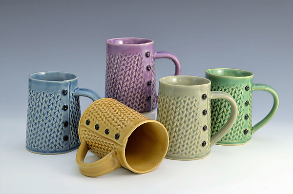 Knitted Mugs