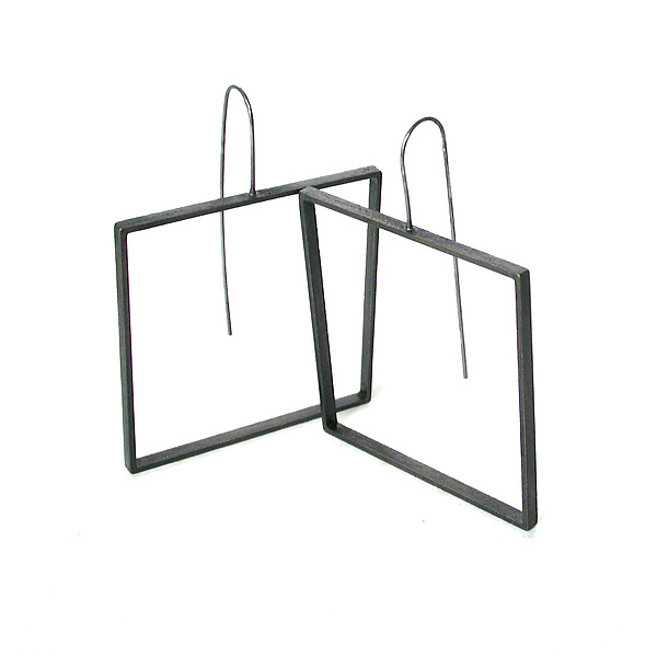 Square Slice Earrings
