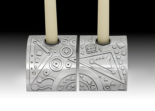 Modern Geometry Candle Stands