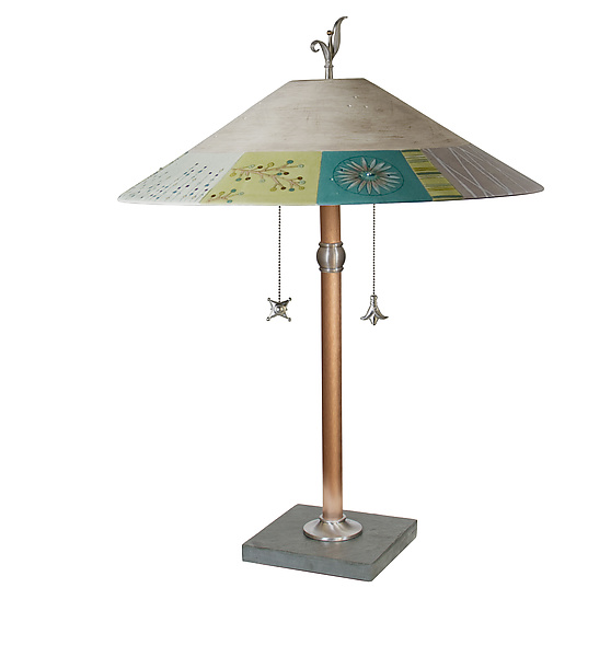 Modern Field Ceramic Shaded Table Lamp