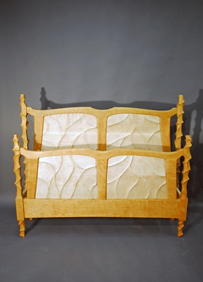 Sculpted Bed