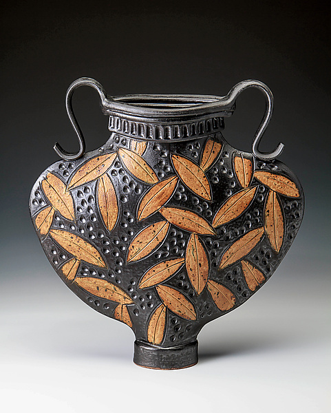 Greek Urn with Leaves
